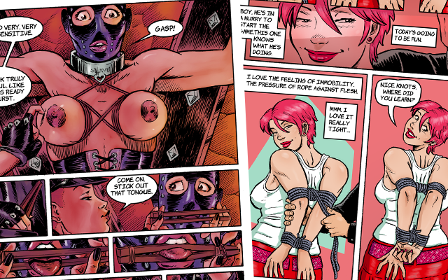 Kinky Slave sample pages