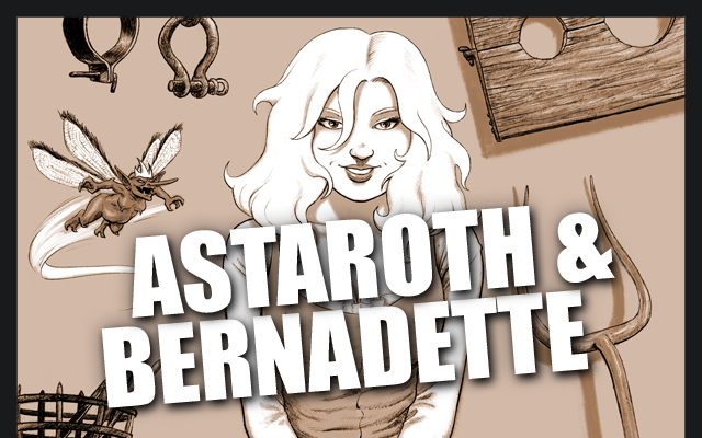 Astaroth and Bernadette title